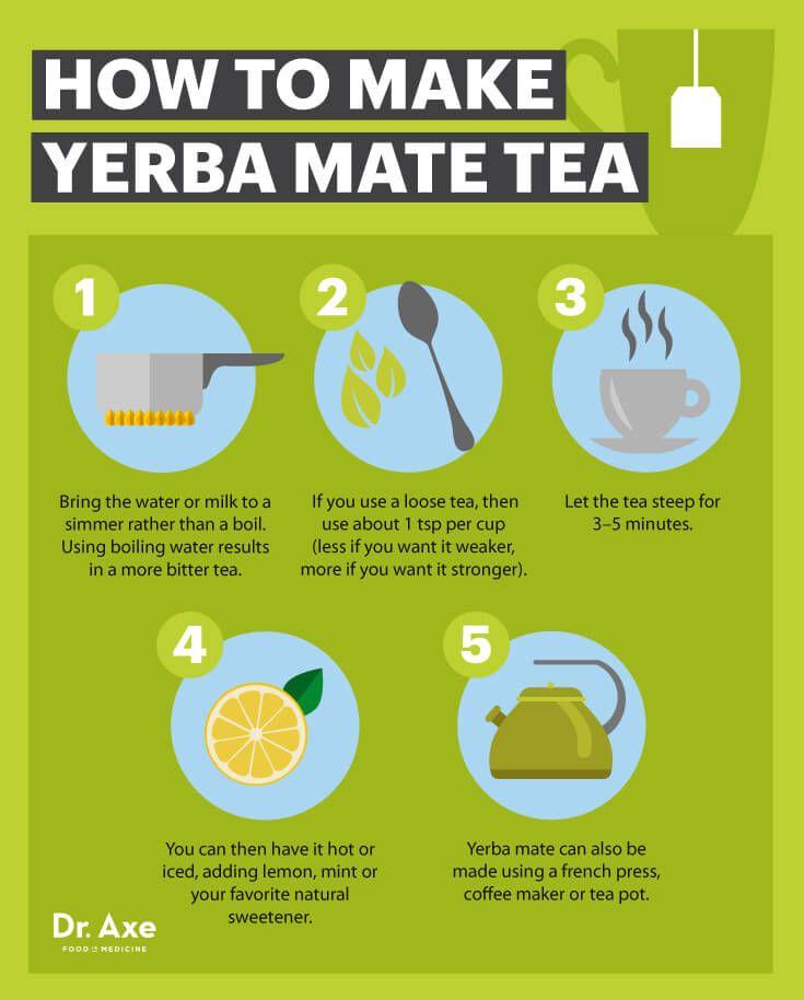 How to make yerba mate tea - Dr. Axe http://www.draxe.com #health #holistic #natural