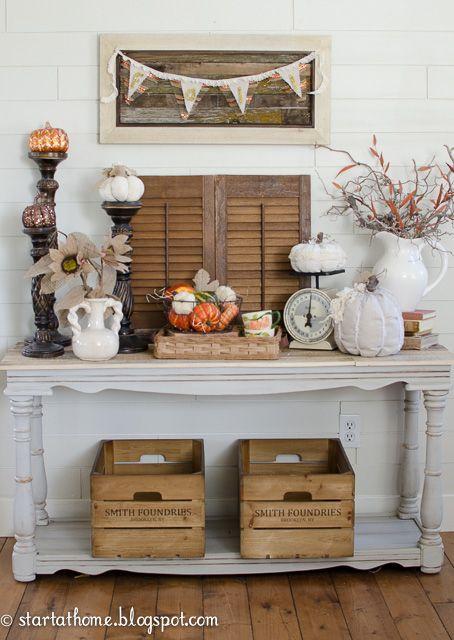 Start at Home: DIY Fall Banner #decoartprojects