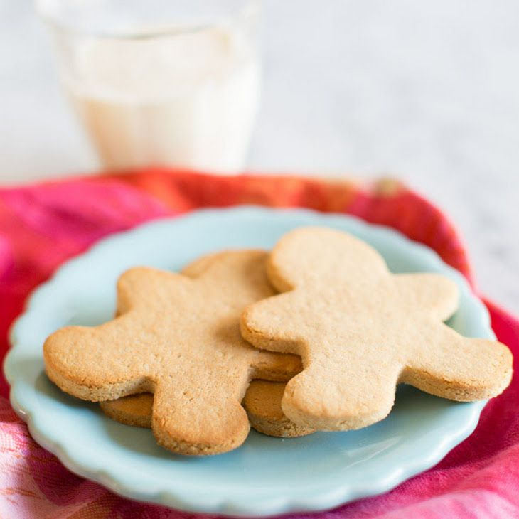 Paleo Sugar Cookies Recipe Desserts with raw cashews, coconut flour, tapioca flour, sea salt, baking soda, ghee, vanilla extract, eggs, honey