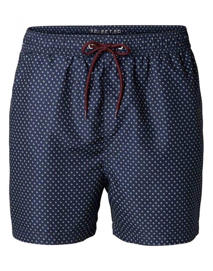 #Maillotdebain #Summer #Selected http://www.letagehomme.com/maillot-de-bain-bleu-marine-a-motifs-classic-heritage.html