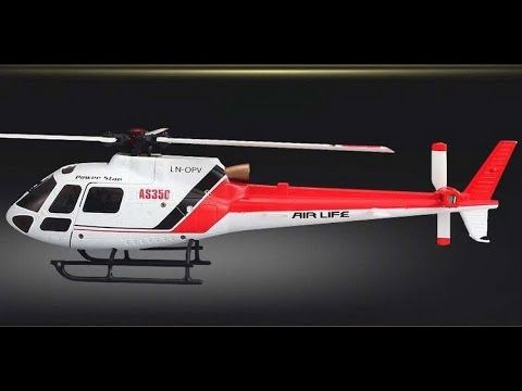 WLtoys V931 2.4G 6CH Brushless Scale Lama Flybarless RC Helicopter - PROobchod.sk
