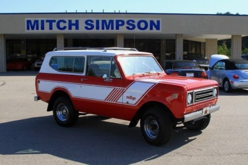 1979-International-Scout-Rallye-Sport-Bright-Red-Super-Nice