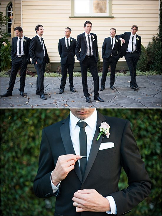 dapper groomsman looks, see more http://www.weddingchicks.com/2013/08/30/modern-chic-wedding/