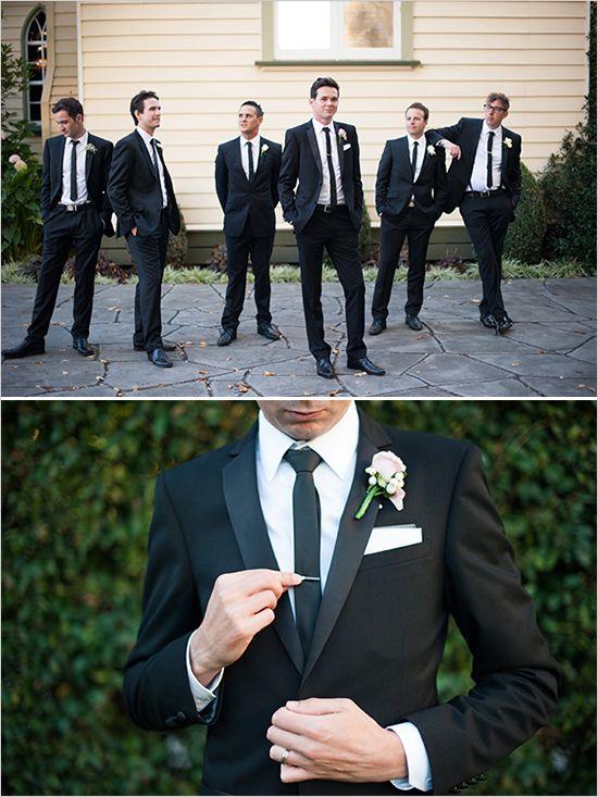 dapper groomsman looks, see more http://www.weddingchicks.com/2013/08/30/modern-chic-wedding/