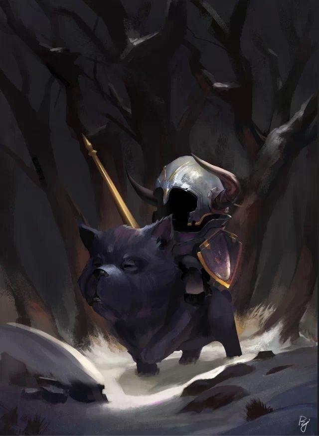 artwork, Helin Yuan on ArtStation at https://www.artstation.com/artwork/bB9km