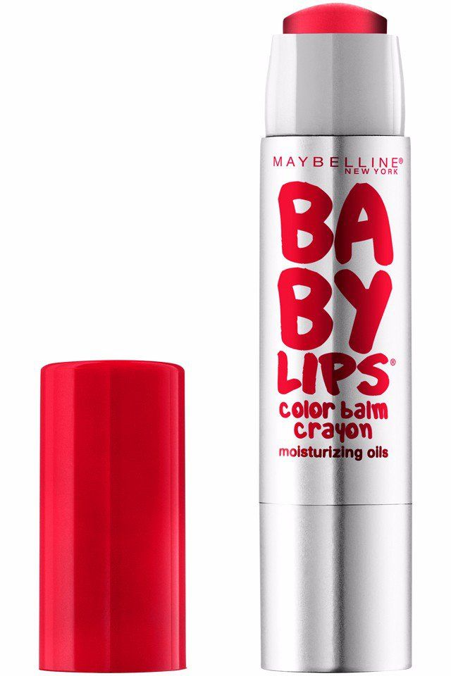 You Won't Be Able to Stop Yourself From Buying All of Maybelline's New Baby Lips Crayons