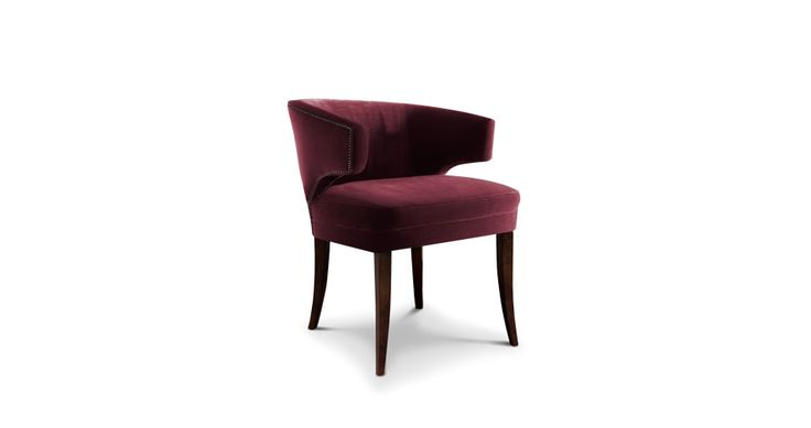 IBIS ARMCHAIR - Contemporary Mid-Century | Contract Furniture | Hospitality Furniture #Upholsteredchairs #Velvetarmchair #modernchairs | Find more inspiration at: https://www.brabbu.com/en/upholstery/