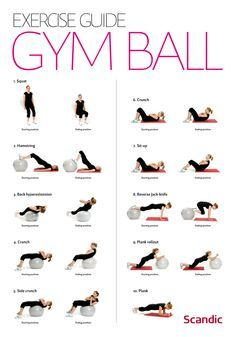 Populaire gym ball GA69