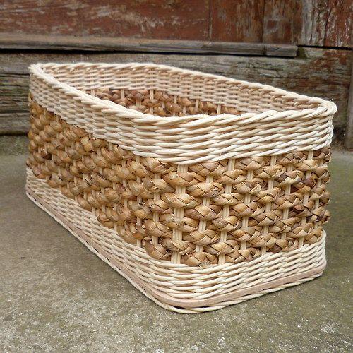 košík - krabice s hyacintem