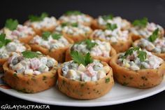 gülay mutfakta: Garnatürlü Patates Çanakları