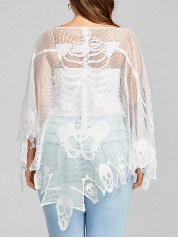 GET $50 NOW   Join RoseGal: Get YOUR $50 NOW!https://m.rosegal.com/plus-size-t-shirts/plus-size-batwing-sleeve-sheer-1371944.html?seid=10884263rg1371944