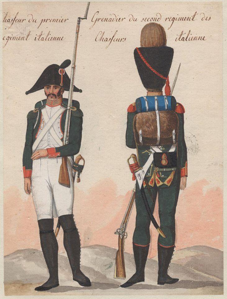 Italy - Voltigeur 1st Line , Carabineer of Legera
