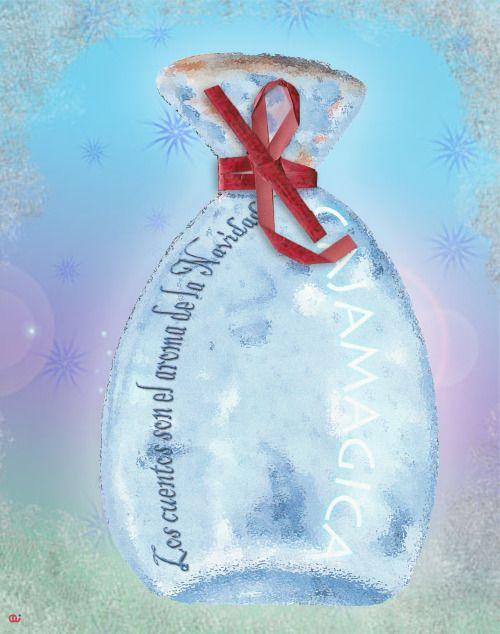 La cajamagica con el aroma de la Navidad.