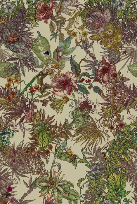 Timorous Beasties Fabric - Opera Botanica