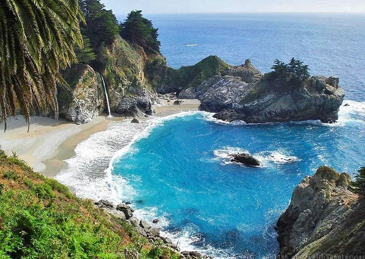 pfeiffer beach big sur california usa | FIND Pfeiffer Big Sur State Park Beach And Waterfalls California, USA ...