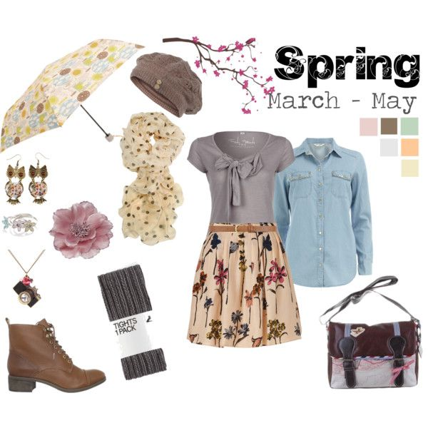 "packing list for ""Travelling in Britain Season by Season - Spring"" by theamblingexplorer on Polyvore"