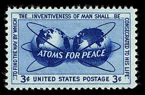 atoms for peace analysis Through his simple syntax and good sentence structure he gives life to the idea of hope, and peace for all eisenhower's overall diction was simple and very down to earth, adding to the idea that we are all in this together and that we can create effective change and peace together.