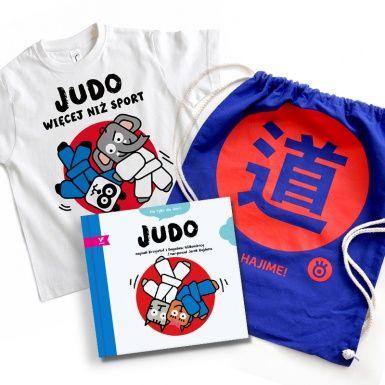 JUDO SET - Book (not only for kids)  + T-shirt + rucksack - enjoy ;)