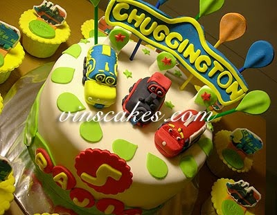 Best Thomas The Train Theme Images On Pinterest Thomas Cakes - Chuggington birthday cake