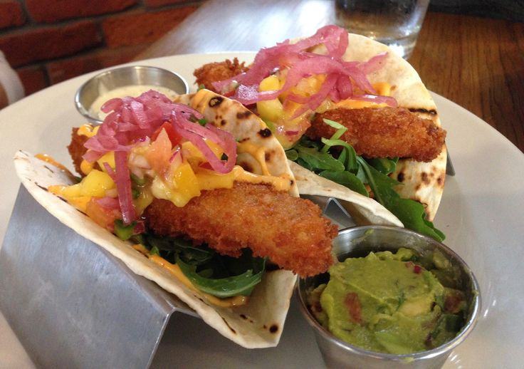 Boulevard Seafood Company, Somerville, NJ: Seafood tacos. https://njmonthly.com/articles/eat-drink/table-hopping/the-rosie-report-chef-fredys-table/