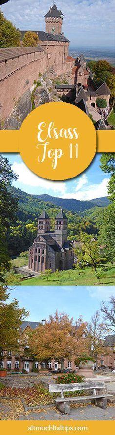 11 Tipps für euren unvergesslichen Urlaub im Elsass - Sehenswürdigkeiten, Geheimtipps, und Dinge, die man getan haben muss. Entdeckt jetzt die schönsten Orte der Region - von Straßburg über Colmar bis hin nach Mühlhausen!