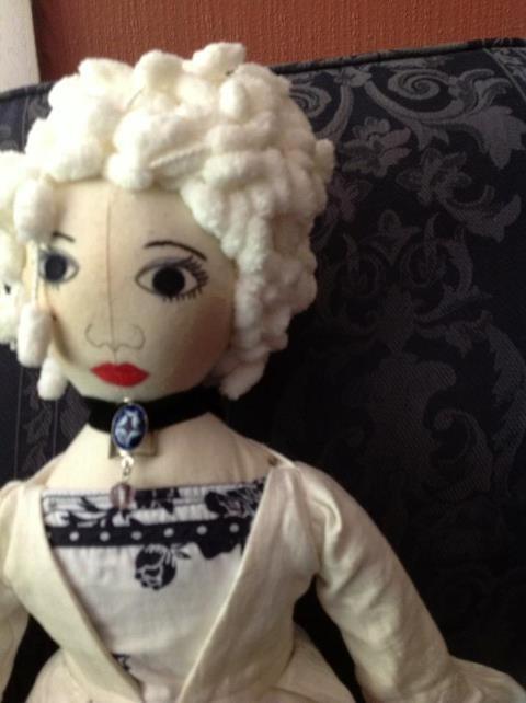 Marie Antoinette art doll