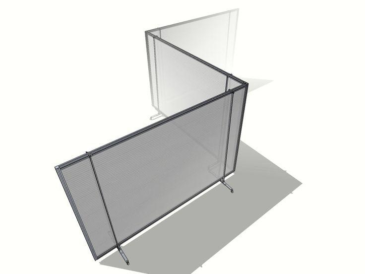 MACRO VELA - Pannelli divisori, pareti mobili, separè su ruote, schermi flessibili, progettazione, produzione e vendita - Clipper System #pannello #openspace