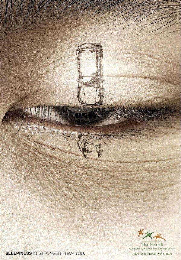 Don't drive sleepy.