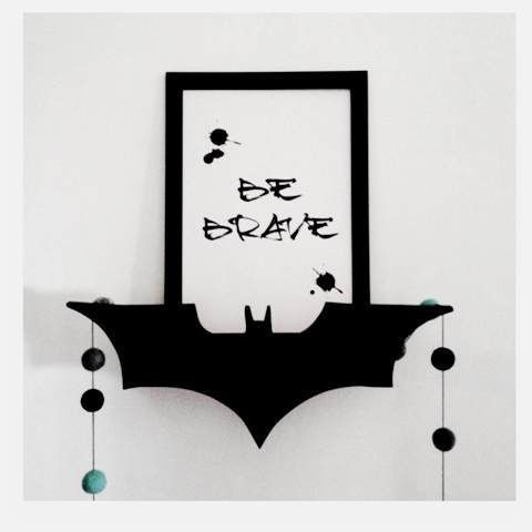 new release our batman shelf is a perfect addition to a nursery or