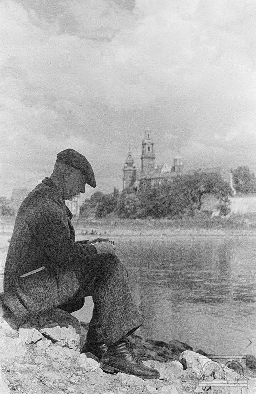 Jan Bułhak, Wisła, katedra na Wawelu - fot. Hermanowicz