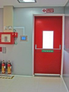 #FireDoors Fire doors are meant for protecting life in the event of a fire related emergency. While the causes of fire could be any - arson, short-circuit, gas leakage etc - http://gmppartitions.com/fire-rated-doors/