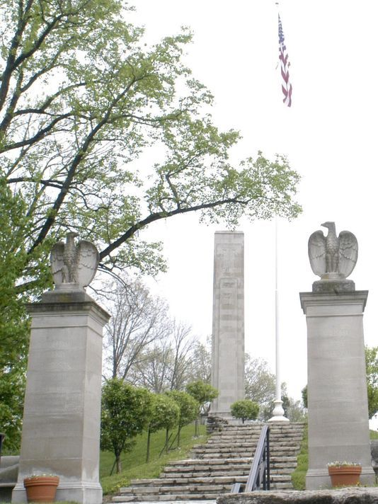 Harrison's presidential campaign changed politics. Photo: The tomb of President William Henry Harrison stands guard over North Bend Ohio. The Enquirer/Malinda Hurting