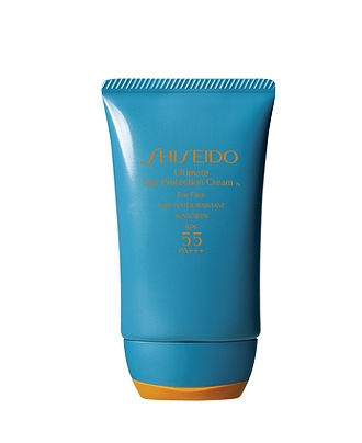 Shiseido Sunscreen - A must for me on summer days.