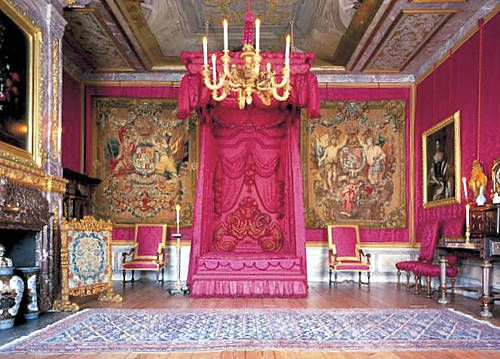 Royal Pink Bedroom in the Het Loo Palace