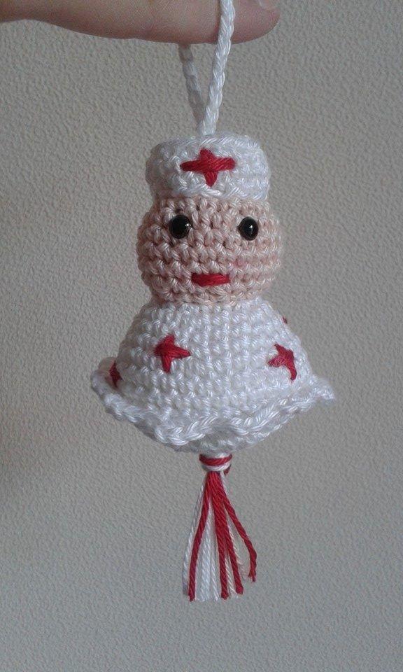 Gelukspoppetje Verpleegster Patroon Annemarie Arts
