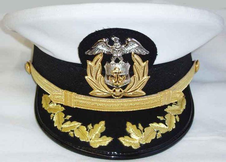 Mens Commanders Formal Combination Cap W Scrambled Eggs