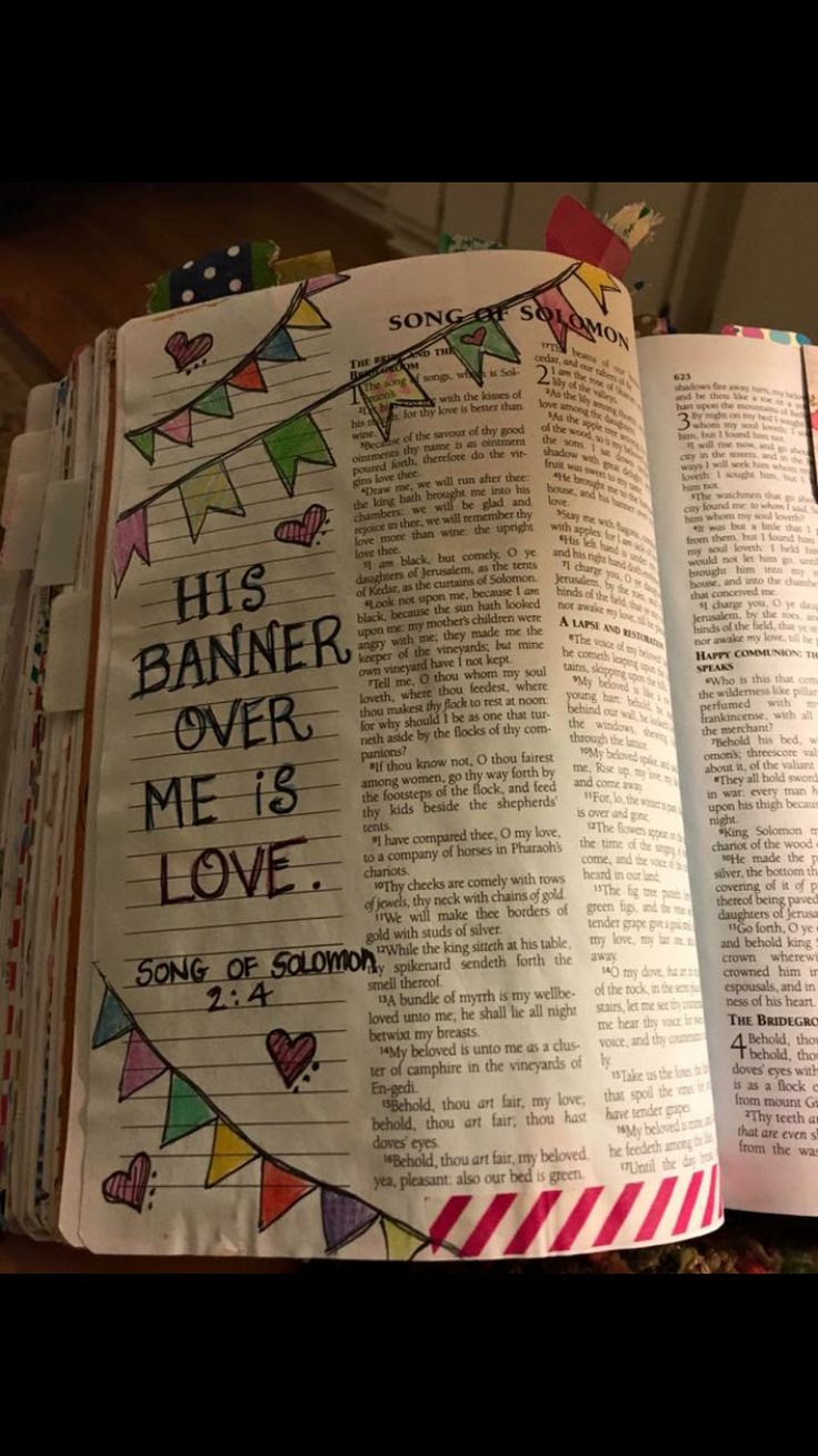 Bible journaling-Song of Solomon