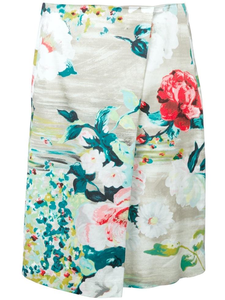 Antonio Marras Floral Skirt #r29summerstyle