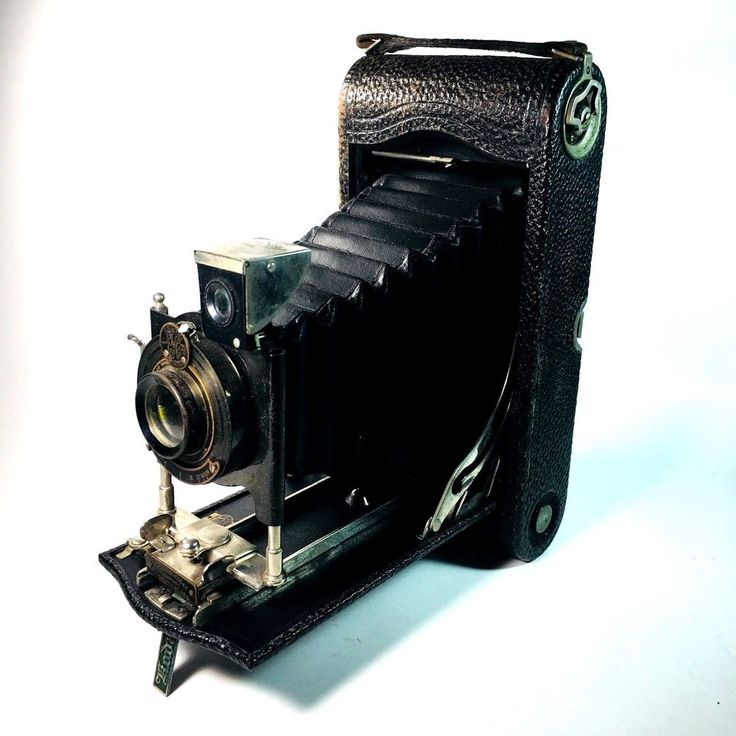 Kodak No 3A Autographic Folding Pocket Camera ca. 1914 EKC Ball Bearing Lens #Kodak