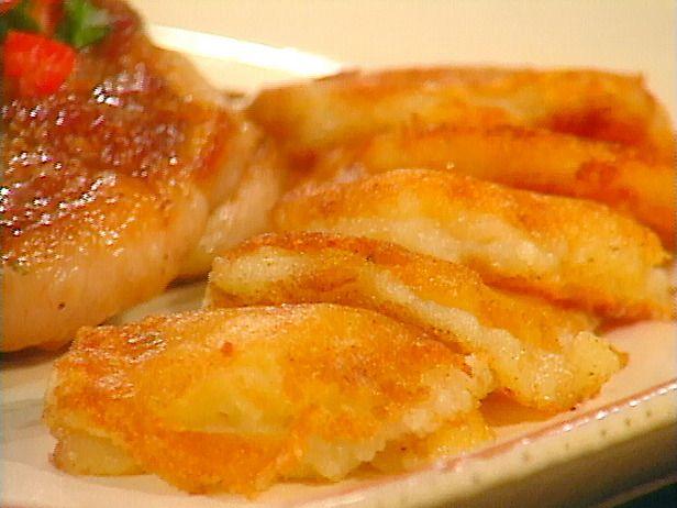 Mashed Potato Cakes Recipe http://www.foodnetwork.com/recipes/sara ...