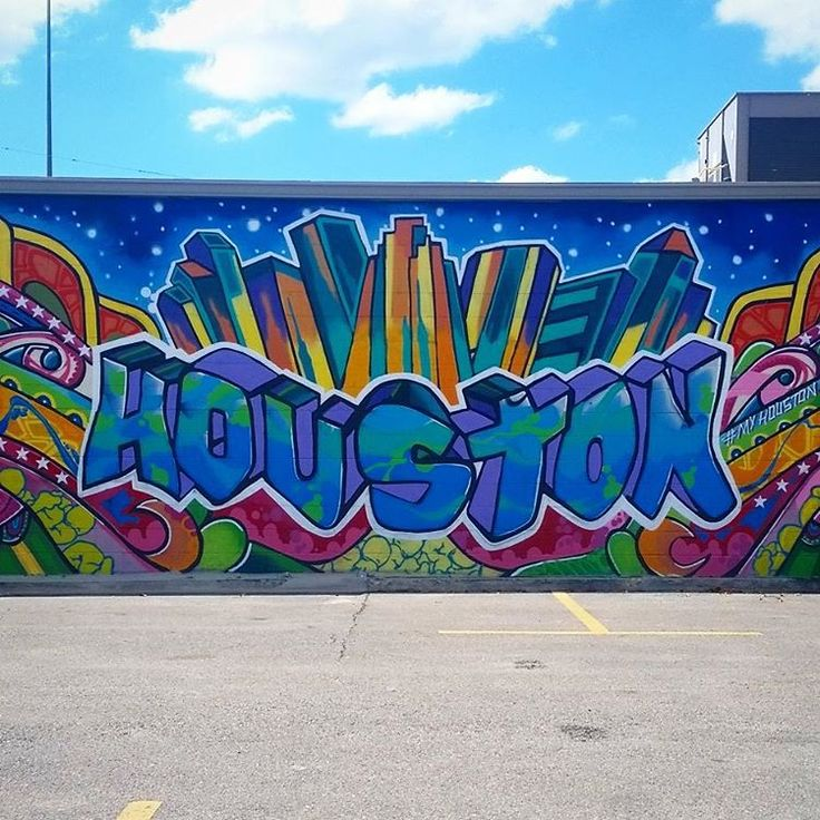 Find It Houston: Where To Find Houston's Best Graffiti And Street Murals