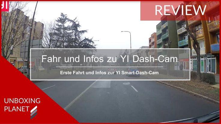 Video mit der ersten Fahrt mit der YI Smart-Dash-Cam und Informationen zu den Funktionen #erstefahrt #yismartdashcam #informationen #funktionen