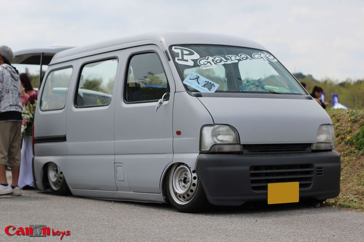 Suzuki Every Kei wagon   Lowered, Slammed, JDM