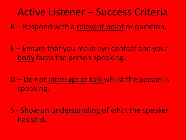 My Active Listener Put Together Last Year With Another Colleague Find This Pin And More On Listening Skills Following Directions
