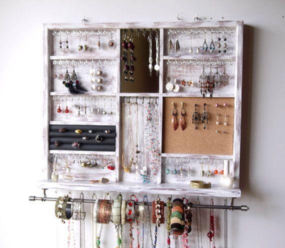 Oltre 20 migliori idee su organizzazione negozi su - Porta gioielli ikea ...