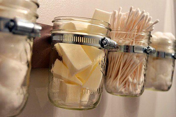 Семь необычных идей для повторного использования стеклянных банок - поражайте знакомых креативом!