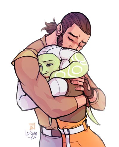 Star wars rebels >> They REALLY need to kiss sometime this season(season 3)