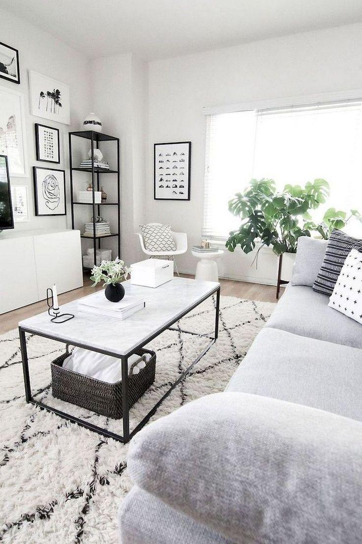 Raumdekor DIY minimalistisch – 85 fantastische minimalistische Wohnzimmerideen