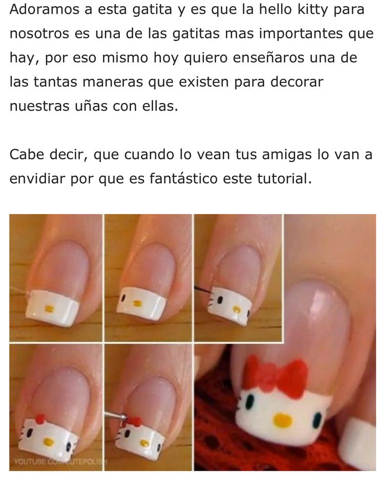 65 best Uñas hermosas y concejos images on Pinterest | Cute nails ...