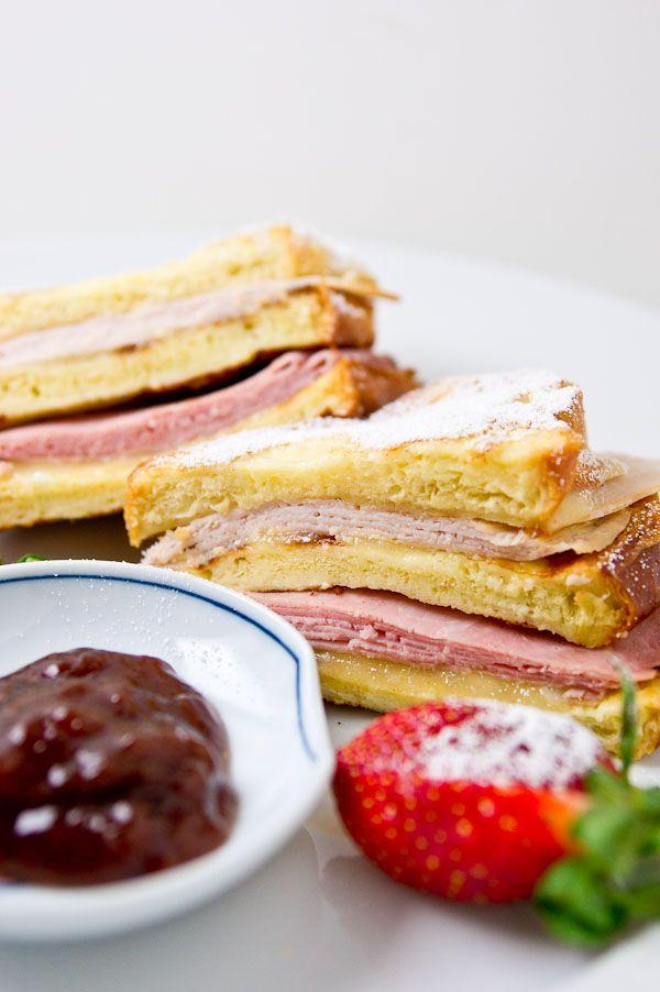 Monte Cristo Sandwich Recipe | Sandwiches * Manwiches | Pinterest